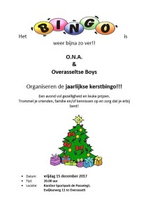 Affiche Kerstbingo